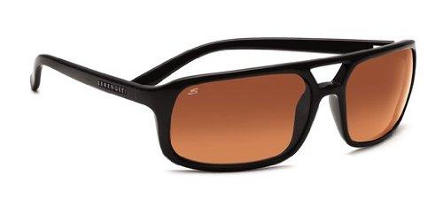 SERENGETI Livorno Gafas de Sol, Color Cristal Drivers Gradient, Categoría Lente 2-3, Color Negro