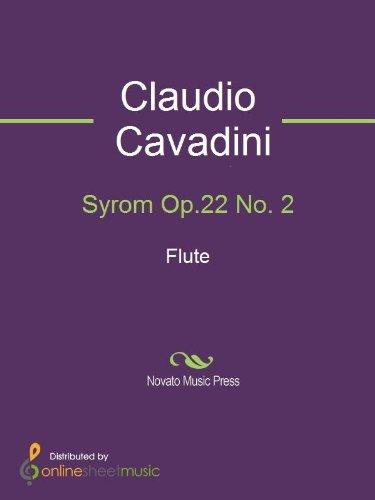 Syrom Op.22 No. 2 - Flute