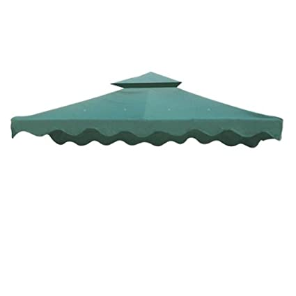 10x10 ft Garden Gazebo Replacement Canopy Top Green  sc 1 st  Amazon.com & Amazon.com : 10x10 ft Garden Gazebo Replacement Canopy Top Green ...