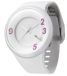 (O.D.M. DD127-06 60 Sec Series White Unisex Watch)