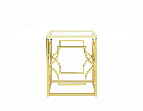 Scott Living 191961 Evianna Dining Table Base, Brass