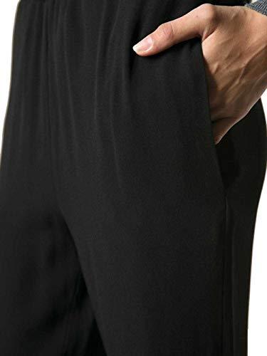 Pamao14a00tv28500b96 Pantaloni Donna Marni Viscosa Nero EOq6Cw