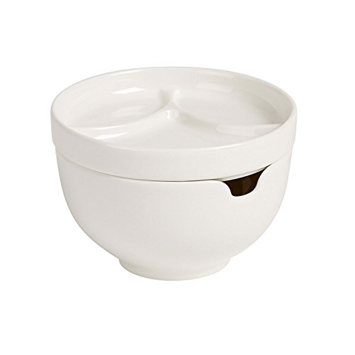 Soup Passion Asia Bowl with Lid by Villeroy & Boch - Premium Porcelain - Made in Germany - Dishwasher and Microwave Safe -  5 Inches ()