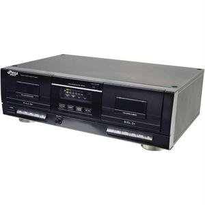 Pyle Pro Pt659du Dual Cassette Deck With Mp3 Conversion by Pyle Pro