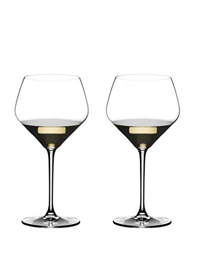 Riedel 4441/97 Extreme Oaked Chardonnay Glass, Set of 2, Clear