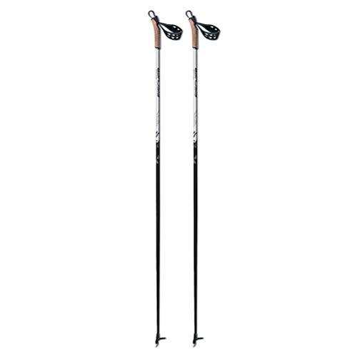 Fischer Ski Poles - Fischer XC Cruiser Cross Country Ski Poles 2019-120/Black-White