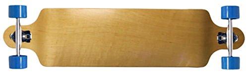 Longboard Complete Double Drop Down Through Thru Natural 41.25 Skateboard