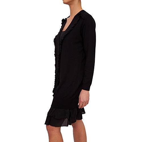 Mujer Negro Para Twinset Vestido Pa83ap Milano x8fw06qv