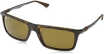 Ray-Ban RB4214 Matte Havana Mens Sunglasses
