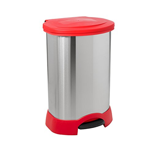 30 gal stainless trash can - 4