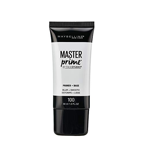 - Maybelline New York Face Studio Master Prime Primer, Blur + Smooth, 1 Fluid Ounce