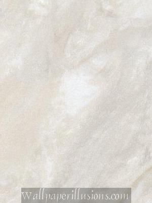 Paper Illusion Wallpaper 8 by 10-inch Sample, Vanilla Travertine Marble
