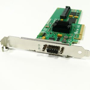 SAS3442E-R Raid 8PORT Pcie 3GB/S 4 Int 4 Ext Lp ROHS6 by LSI Logic