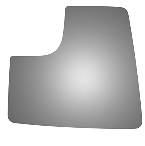 Burco 4568 Lower Flat Driver Side Replacement Mirror Glass for 15-17 Ford F-150 (2015, 2016, 2017)