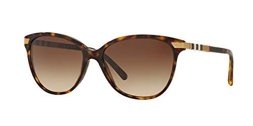 Burberry Women's 0BE4216F Dark Tortoise Burberry Brown Tortoise Sunglasses