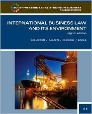 International Business Law and Its Environment 8th (eighth) edition Text Only