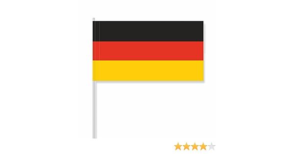 antrada Papel banderitas Alemania