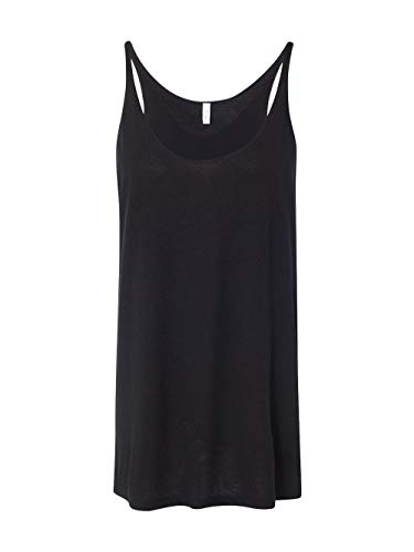 Bella+Canvas Women's Slouchy Tank Top, Small, Black from Bella