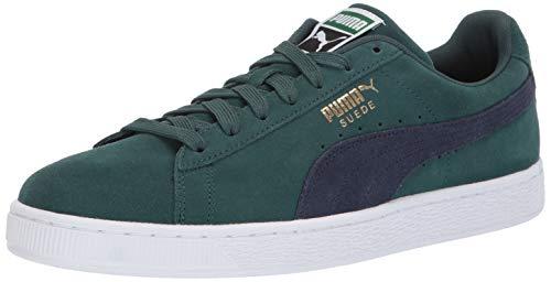 PUMA Men's Suede Classic Sneaker ponderosa PINE-PEACO 6.5 M US