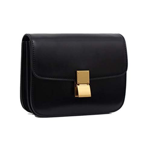 JeHouze Women's Genuine Leather Messenger Crossbody Handbag ()