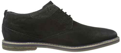 Bugatti 311169043500, Zapatos De Cordones Derby para Hombre Negro (schwarz 1000schwarz 1000)