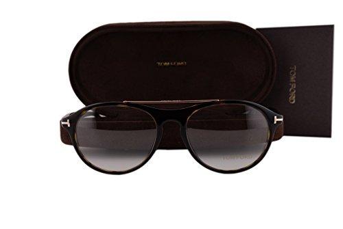 Tom Ford FT5411 Eyeglasses 53-17-145 Dark Havana 052 FT - Sale Frames Glasses Tom Ford