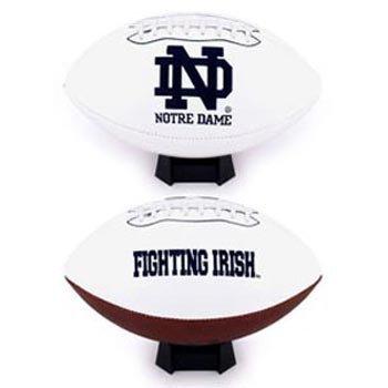 Fotoball 'Notre Dame Fighting Irish aufgenähtes Logo Signature Series Fußball [Misc.] by