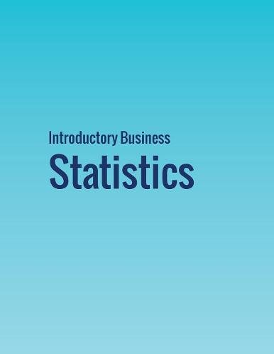 Pdf Science Introductory Business Statistics