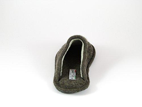 Pantofole da Donna Invernali Stella Marrone