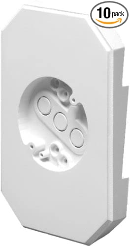 1//2-Inch Siding Mounting Kits with Built-in Box