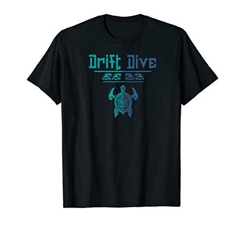 (Scuba diving t shirt | Polynesian Sea Turtle for scuba diver)