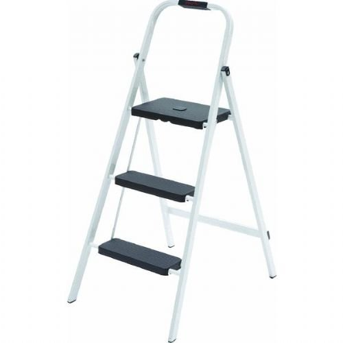 Skinny Mini 3-Step Steel Step Stool Ladder