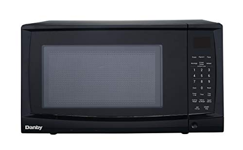 Danby DMW09A2BDB 0.9 cu. ft. Microwave Oven, Black.9 cu.ft, by Danby (Image #1)