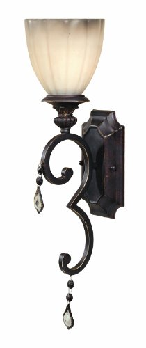 World Imports 1681-89 Avila Collection Single Light Wall Sconce, Bronze by World Imports Lighting