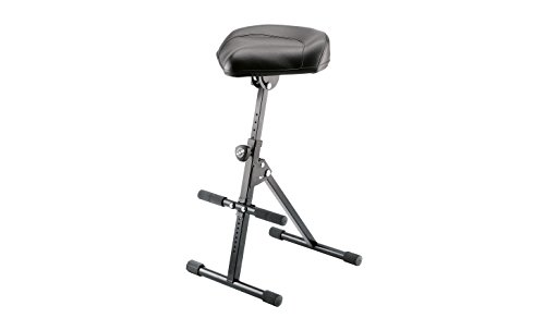 K&M Stands 14045.000.55 Performance Stool - black imitation leather by K&M Stands