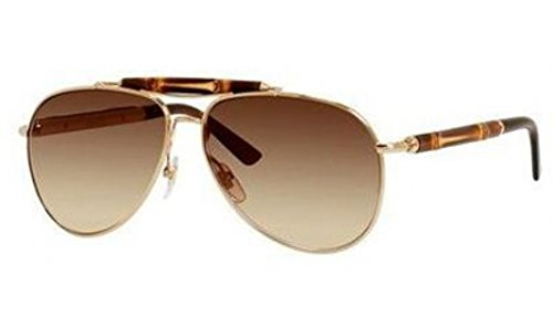 Gucci Sunglasses - 4240 / Frame: Gold Lens: Brown Gradient