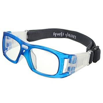 e3c345743538 Buy Generic Sports Basketball Glasses Cycling Football Protective Eyewear  Eyes Safety Goggles-Blue Online at Low Prices in India - Amazon.in
