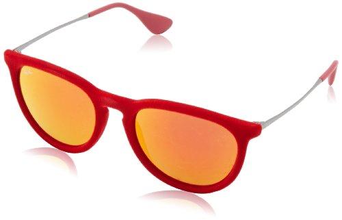 Ray-Ban ERIKA - RED VELVET Frame RED MULTILAYER Lenses 54mm Non-Polarized