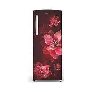 Whirlpool 200 L Refrigerator (215 IMPRO PRM 3S Wine Mulia, Red)