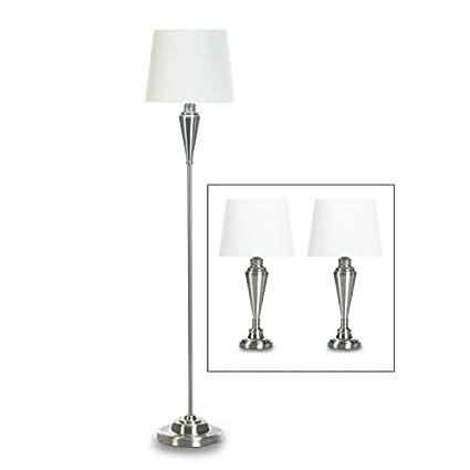 Amazon.com: Gallery of Light Desk Lamp Set, Silver ...