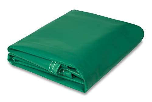 5' x 7' Heavy Duty Vinyl Tarp (5' x 7' Green)