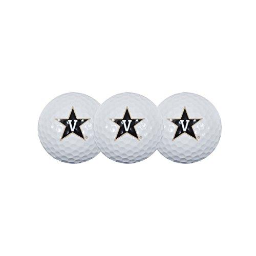 Team Effort Vanderbilt Commodores Golf Ball 3 Pack
