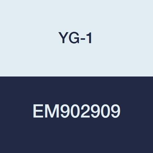 YG-1 EM902909 8.0 mm Carbide X-Power Ball Nose End Mill with Taper Neck R4.0 Corner Radius 2 Flute