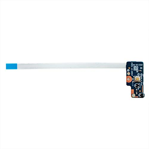 (Power Button Board with Cable for HP Pavilion 15-G 15-R 15-R138CA 15-R174CA 15-R011DX 15-R029WM 15-G028CA 15-G033D 15-G035WM 15-G070NR Series LS-A991P)
