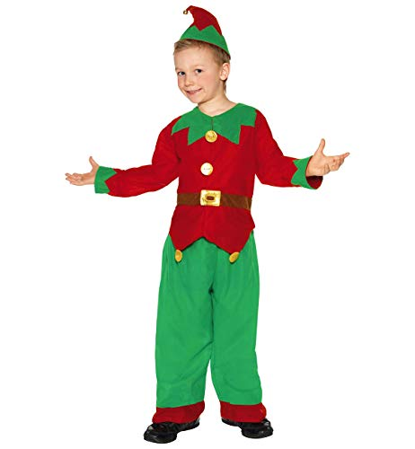 Smiffys 24507 Boys Elf Costume, ()