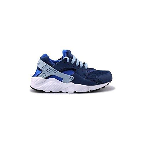 Nike Huarache Run Coastal Blue/Blue Grey (Big Kid) (5 M US Big Kid)