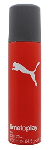 Price comparison product image Puma Time To Play Man Deodorant 5.1oz (150ml) Spray