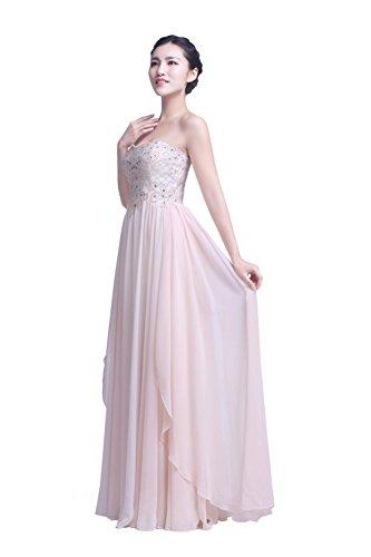 YiYaDawn - Vestido - para mujer Lavanda