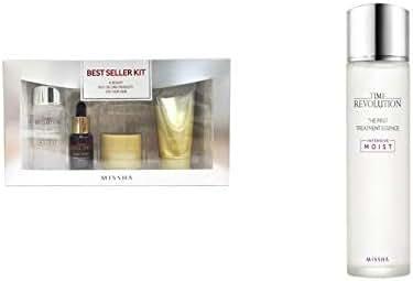 MISSHA Time Revolution The First Treatment Essence Intensive Moist 150ml + MISSHA Best Seller Kit