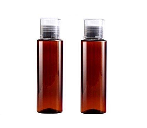 2PCS 100ML/3.3oz PET Plastic Empty Refilled Shampoo Emulsion